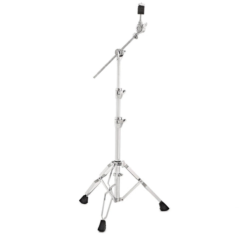 SJC Custom Drums Heavy Duty Double Braced Foundation X Hardware Boom Cymbal Stand