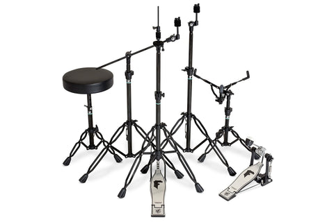 SJC Custom Drums Heavy Duty Double Braced Foundation Shadow Hardware Pack
