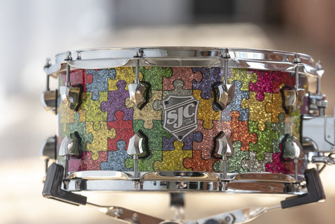 Autism Awareness Snare Drum