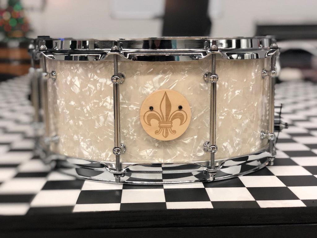 *Used Aged White Pearl Snare