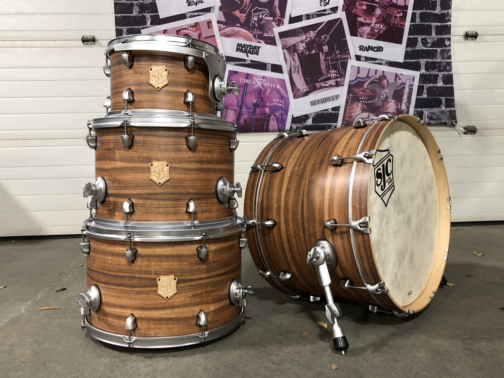 "12"", 16"", 18"", 22"" Maple Shell Pack - ""Chestnut"" Finish"