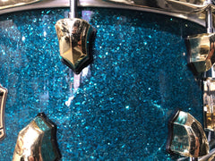 "6.5x14"" Teal Glitter Snare"