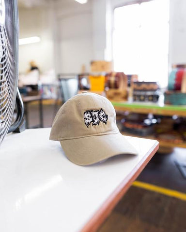 Metal Logo Dad Hat - Khakai