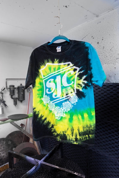 Tropical Tie Dye T-Shirt