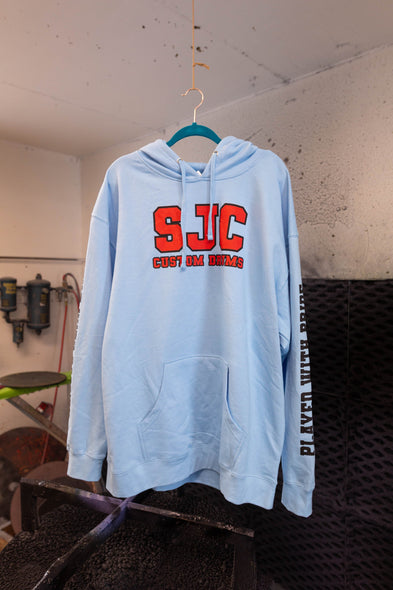 Pullover Hoodie - Blue (XL)