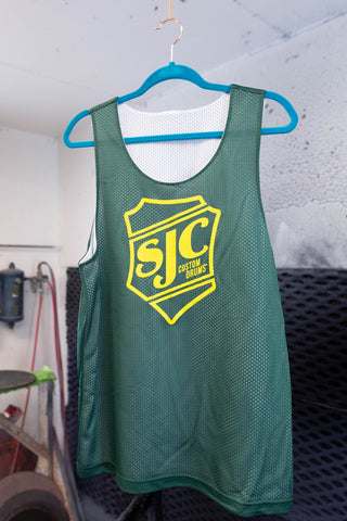 Basketball Jersey - Green