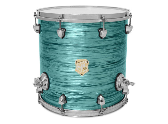 Providence Floor Toms - Turquoise Ripple