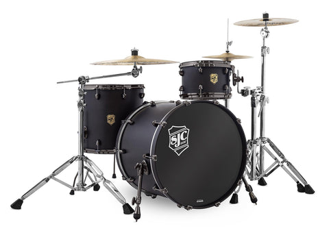 Navigator 3pc Shell Pack - Ghost Black w/ Black Nickel HW