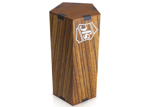 Medium 5-Sided Zebrawood Shaker