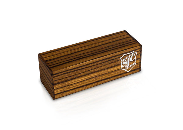 Small 4-Sided Zebrawood Shaker
