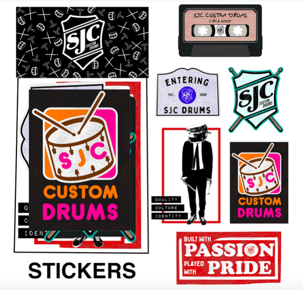 SJC Sticker Pack