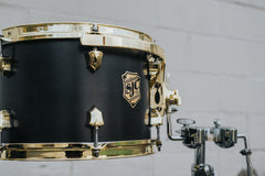 Tour Series 3pc Shell Pack - Black Satin w/ Chrome HW