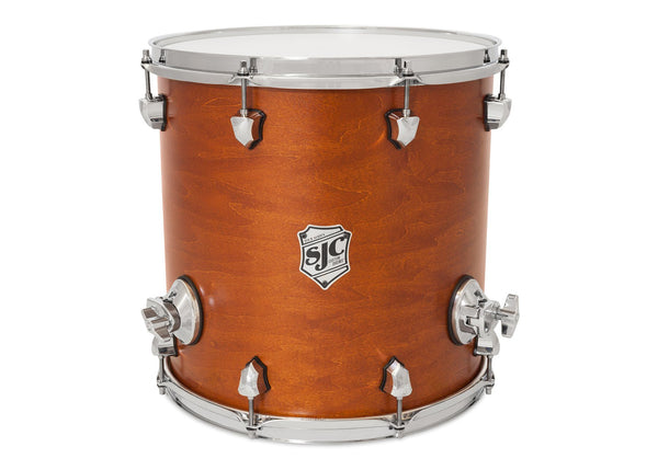 Tour Series Floor Tom | Golden Ochre Satin