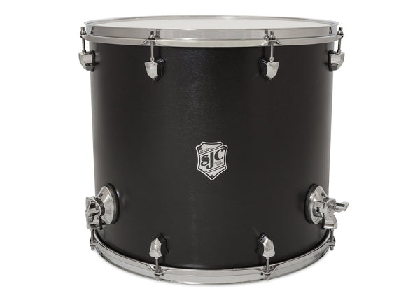 Tour Series Floor Tom | Black Satin