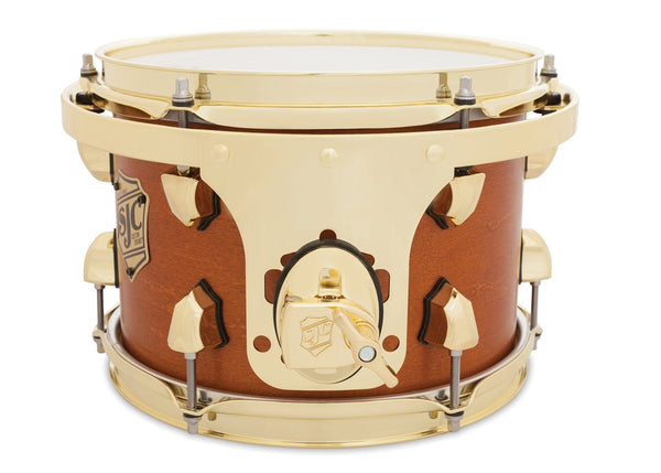 SJC Custom Drums Tour Series Maple Rack Tom Golden Ochre Satin
