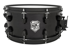 Tour Series Snare - Black Satin w/ Black HW