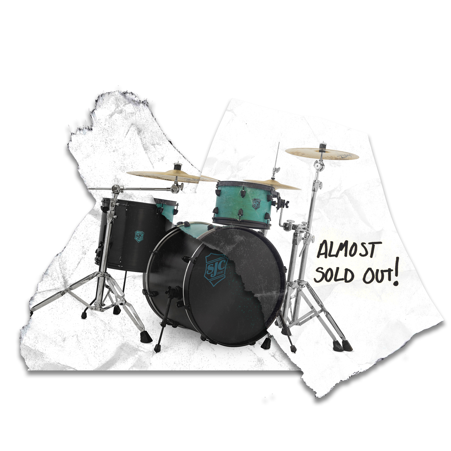 SJC Custom Drums Pathfinder