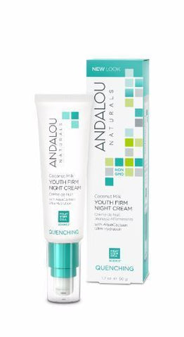 Andalou | Coconut Milk Youth Firm Night Cream | 1 x 50g