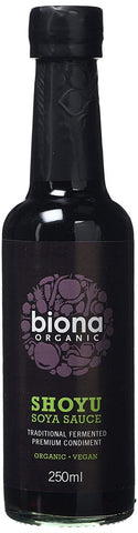 Biona | Organic Shoyu Sauce Traditionally Brewed | 1 X 250ml. Sold By Superfood Market