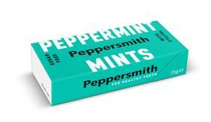 Peppersmith | Peppermint Mints | 1 X 60g. This Product Is :- Vegan