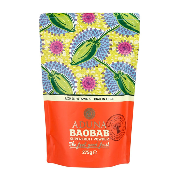 Aduna | 100% Organic Baobab Superfruit Powder | 1 x 275g