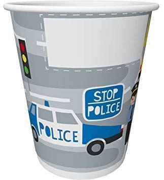 Duni | 20cl Police Paper Cup | 1 x 10s