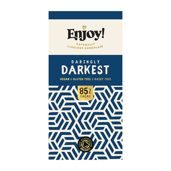 Enjoy Raw Choc | Dark 85% Chocolate Bar | 1 x 35g