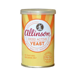 Allinsons | Dried Active Baking Yeast | 1 x 125g | Allinsons