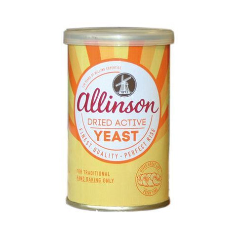 Allinsons | Dried Active Baking Yeast | 1 x 125g