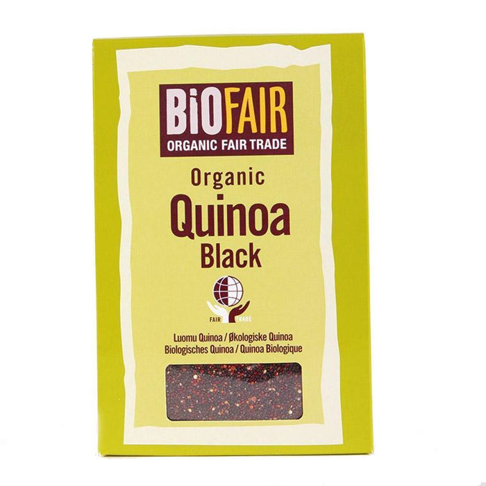 Biofair | Organic Ft Black Quinoa Grain | 1 x 400g