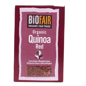 Biofair | Organic Fairtrade Quinoa Red | 1 X 500g. This Product Is :- Vegan,organic,fairtrade