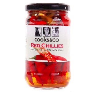 Cooks & Co | Whole Red Chillies | 1 X 300g. This Product Is :- Vegan
