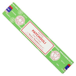 Siesta Crafts | Satya Sai Patchouli Incense | 1 X 15g. This Product Is :- Vegan,fairtrade