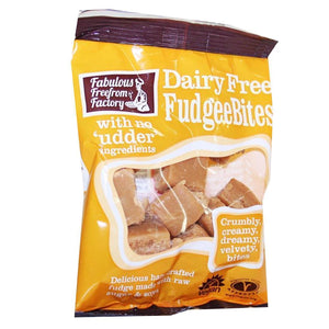 Fabulous Free From Factory | Dairy Free Fudgee Bites | 1 x 75g | Fabulous Free From Factory