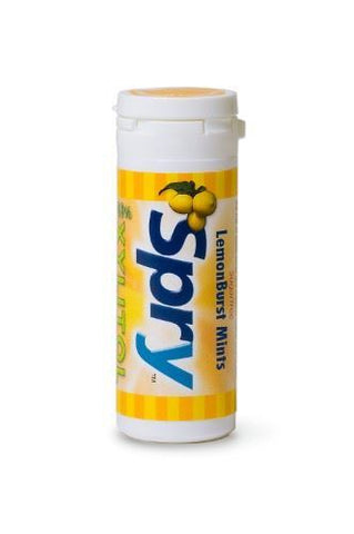 Spry | Mints With Xylitol - Lemonburst | 1 x 45s