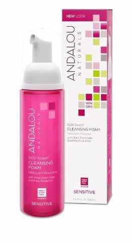 Andalou | 1000 Roses Cleansing Foam | 1 x 163ml