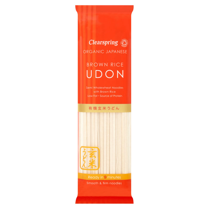 Clearspring | Brown Rice Udon Noodles | 1 x 200g