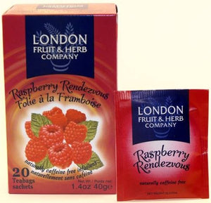 London Fruit & Herb Co | Raspberry Rendezvous | 1 x 20bags | London Fruit & Herb Co