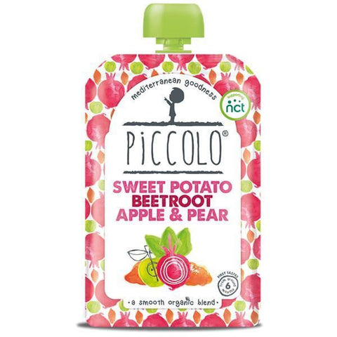 Piccolo | Organic Sweet Potato Beetroot Apple & Pear | 1 x 100g