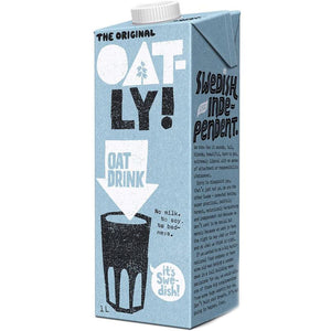 Oatly | Oatly Enriched - Added Calcium | 1 X 1l. This Product Is :- Vegan