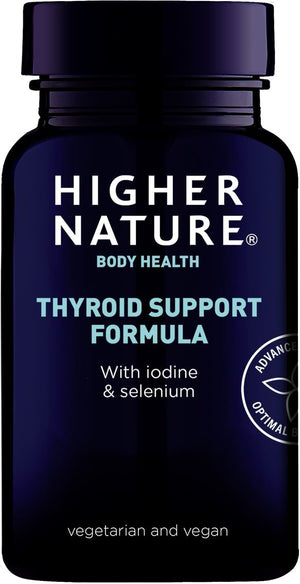 Higher Nature | Thyroid Support Formula Capsules | 1 x 60s | Higher Nature