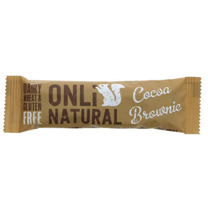 Onli Natural | Cocoa Brownie | 1 X 35g. This Product Is :- Gluten Free,vegan