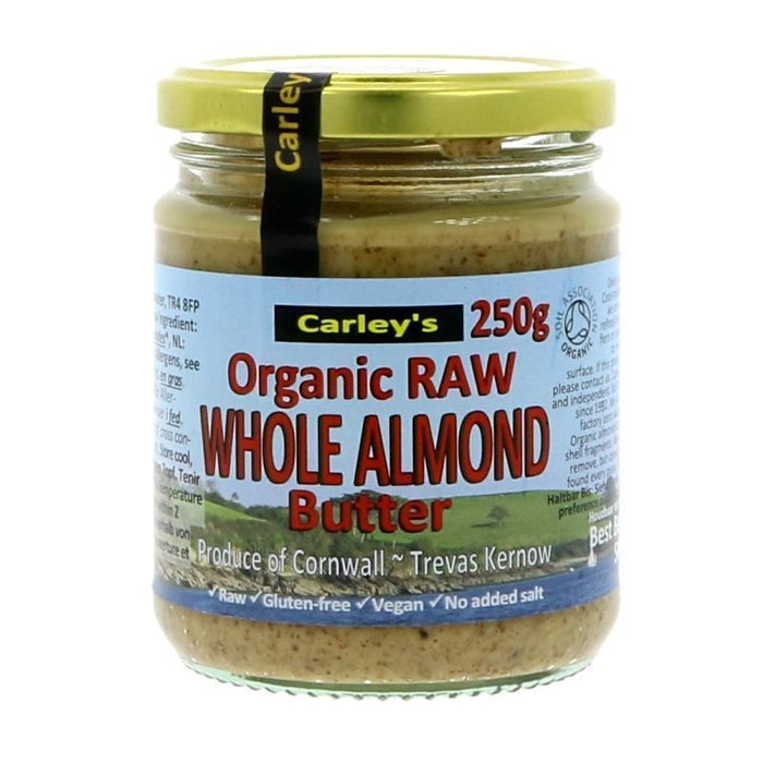 Carley's | Raw Almond Butter | 1 x 250g
