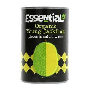 Essential Trading | Organic Jackfruit In Water | 1 x 400g | Essential Trading