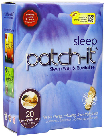 Patch It! | Sleep Patch-it Box Of 20 | 1 X 20patche. Sold By Superfood Market