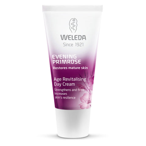 Weleda | Evening Primrose Oil Revitalising Day Cream | 1 X 30ml. This Product Is :- Gluten Free,vegan,fairtrade
