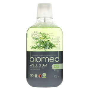 Biomed | Mouthwash - Well Gum | 1 x 500ml | Biomed