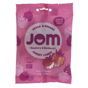 Jom | Raspberry & Blackberry Sweets | 1 x 70g