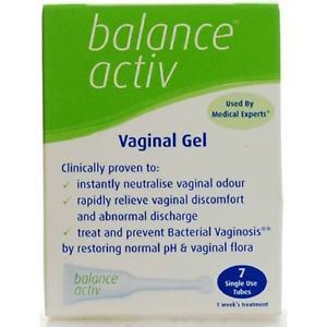 Balance Activ | Lactic Acid Gel For Bacterial Vaginosis | 1 x 7 Pack | Balance Activ