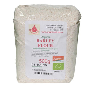Little Salkeld Watermill | Barley Flour - Organic | 1 x 500g | Little Salkeld Watermill
